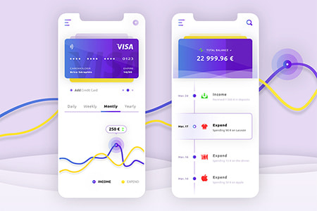 移动钱包支付用户界面APP UI设计