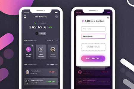 金融银行移动用户界面设计
