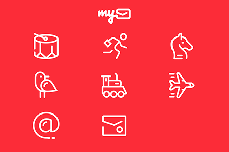MyMail游戏邮件图标