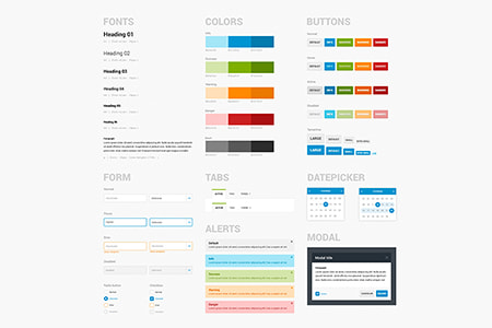 Bootstrap UI套件组件