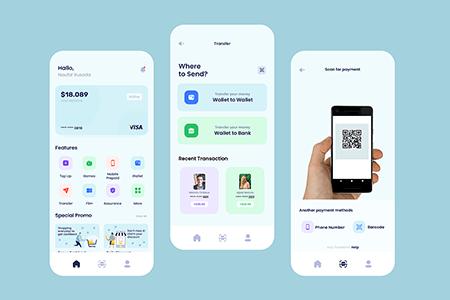 信用卡钱包支付App Ui界面设计
