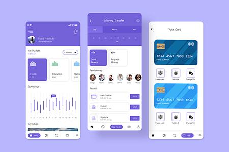 钱包账户App Ui界面设计