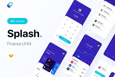 金融电子钱包app ui界面设计