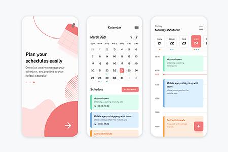 日程计划App Ui界面设计