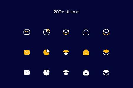 商务办公项目Ui图标设计