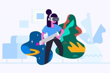 30张创业商业场景插画设计