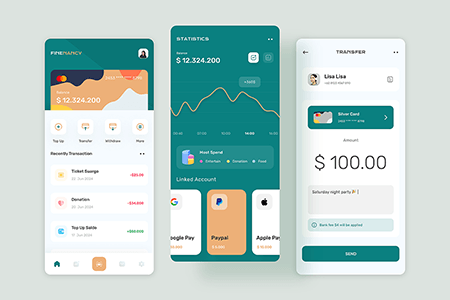 钱包支付管理应用App Ui 界面