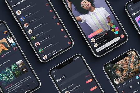 Zingo社交圈子APP应用界面设计