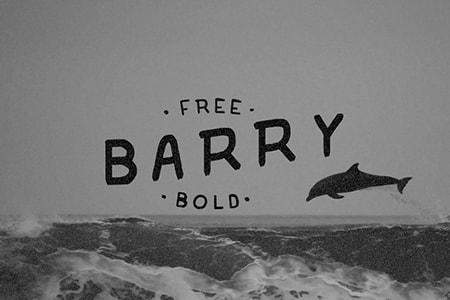 barry手写的免费字体