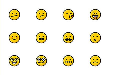 50 枚Emoji表情图标