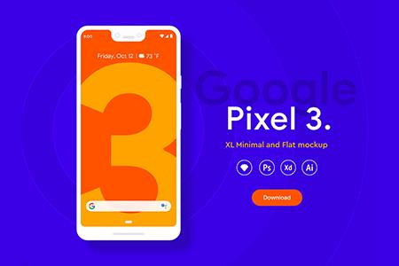 Pixel 3 XL手机样机