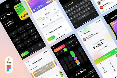 Banking银行金融 App界面设计