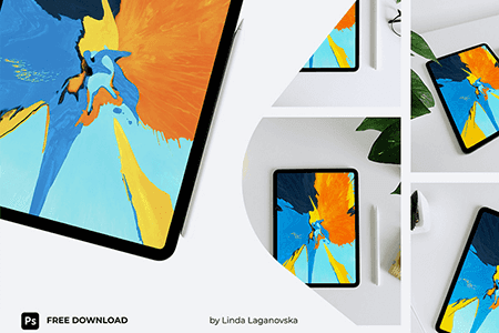 iPad 11 Pro平板样机