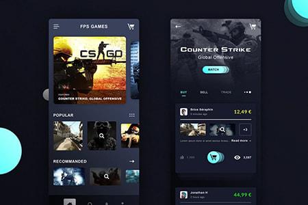 CS:GO游戏应用程序设计