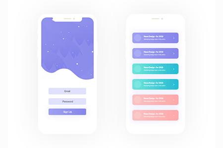 移动文章用户界面设计