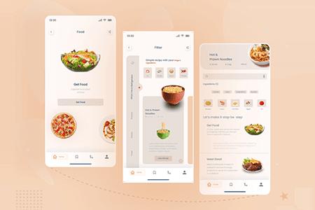 外卖送餐应用程序APP UI界面