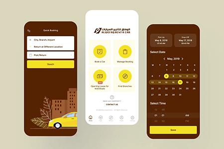 租车iOS App用户界面