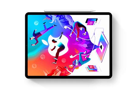 iPad Pro + Pencil 2018样机