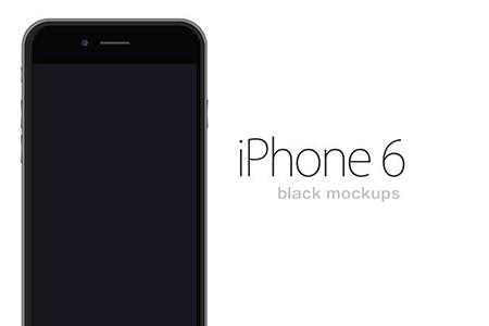 iPhone 6 Black Mockups