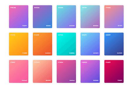 渐变颜色样式