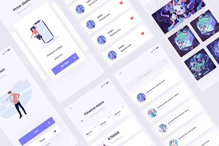 资源交易移动用户界面设计
