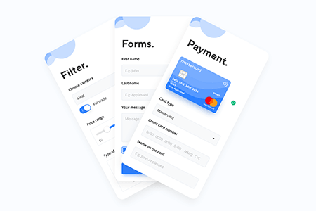 支付表单应用界面
