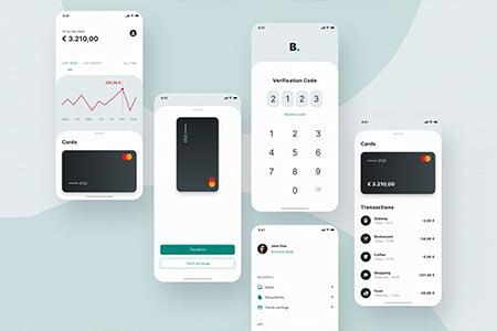 Banking 金融银行界面设计