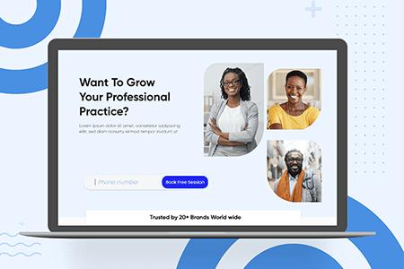 数字创业网站模板