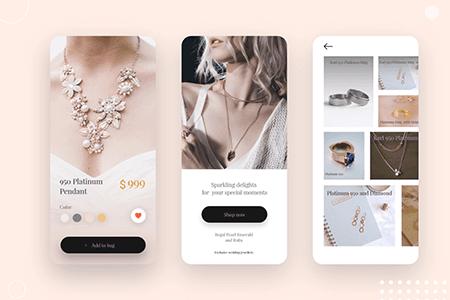 珠宝首饰电商App设计