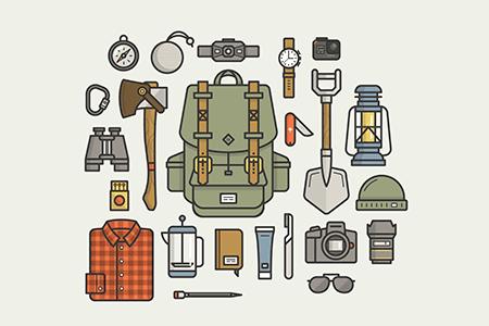 露营装备必备品插图