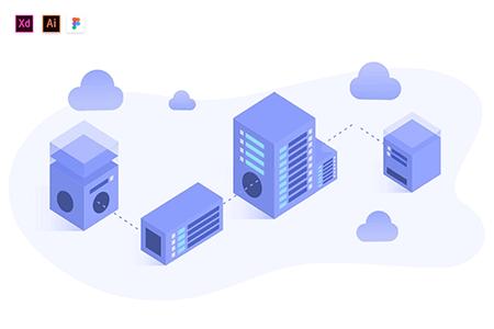 网络服务器虚拟主机插图