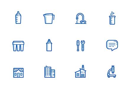12枚清洁卫生图标