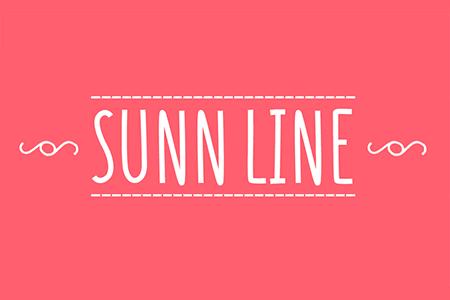 Sunn Line 手写字体
