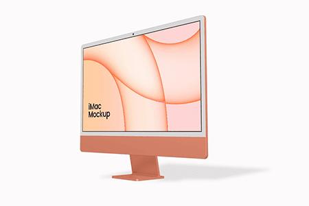 新的 iMac 24 英寸样机