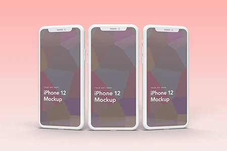 iPhone 12 样机模型