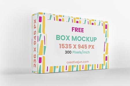 盒子包装模型