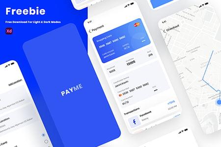 在线钱包支付APP界面设计