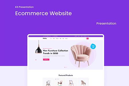家具电商网站UI网页模板