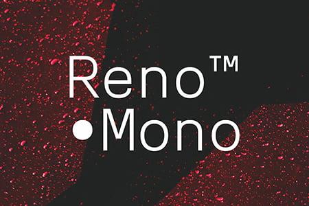 Reno Mono简约现代品牌字体