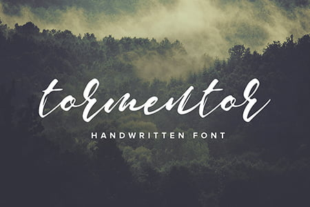 Tormentor 手写字体